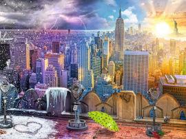 Ravensburger פאזל עונות השנה בניו-יורק 16008