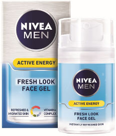 NIVEA ACTIVE ENERGY ג'ל לחות אנרגטי לגבר