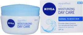 NIVEA AQUA EFFECT MOISTURIZING DAY CARE קרם לחות לעור רגיל/מעורב