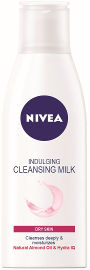 NIVEA חלב פנים לעור יבש