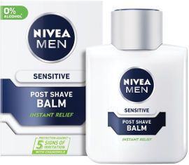 NIVEA תחליב לחות לאחר גילוח סנסטיב