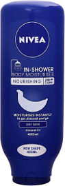 NIVEA קרם גוף IN SHOWER לעור יבש