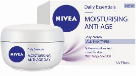 ניוואה DAILY ESSENTIALS MOISTURIZING ANTI AGE קרם יום לכל סוגי העור