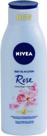 NIVEA קרם גוף מועשר בניחוח ורדים