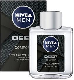 NIVEA תחליב אפטר שייב DEEP