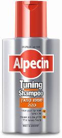 אלפסין שמפו קפאין כהה שומר על הגוון הכהה של השיער מחזק את סיב השיער