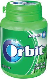 אורביט גומי לעיסה בטעם ספרמינט בקבוקון הסדרה הצבעונית