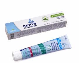 סיליציאה משחת שיניים עם מינרל צורן טהור לבריאות השיניים בטעם מנטה