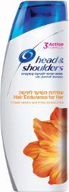 הד&שולדרס שמפו יומיומי למניעת קשקשים לעמידות השיער לאשה
