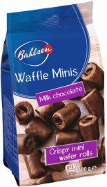 בלזן וופל מיניס מצופה שוקולד חלב