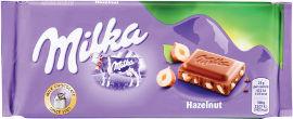 מילקה שוקולד חלב עם אגוזים