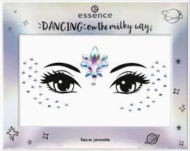"""Essence DANCING ON THE MILKY WAY מדבקות """"תכשיט"""" לפנים 02"""