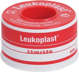 """ליקופלסט פלסטר בד בגליל, רוחב 2.5 ס""""מ"""