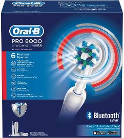 אורל בי PRO 6000 מברשת שיניים חשמלית