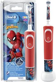 אורל בי מברשת שיניים חשמלית נטענת לילדים-ספיידרמן