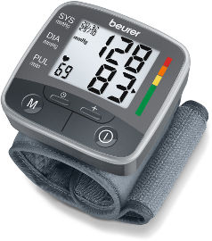 Beurer מד לחץ דם לשורש כף היד