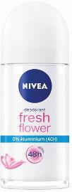 NIVEA דאודורנט רול און לאשה FRESH FLOWER אלומיניום 0%