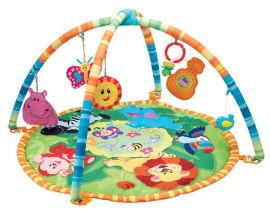 winfun משטח משחק ולמידה לתינוק ג'ונגל