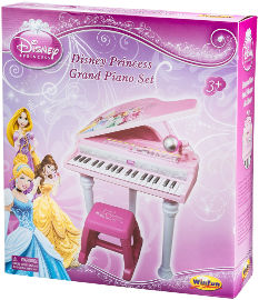 דיסני פסנתר כנף נסיכות ורוד-דיסני