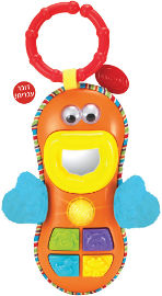 winfun טלפון צעצוע פרצוף מצחיק