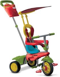 SMART TRIKE תלת אופן דגם ג'וי ירוק+אדום+צהוב