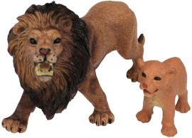 National Geographic מארז חיות סוואנה- אריה וכפיר