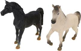 National Geographic מארז חיות חווה- סוס לבן וסוס שחור