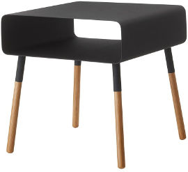 Yamazaki שולחן צד נמוך שחור