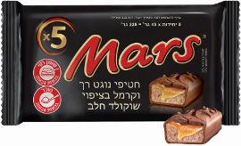 מרס מארז  חטיפי שוקולד נוגט4+1