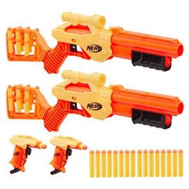 NERF רובה נרף אלפא סטרייק סט רובים וחצי ספוג