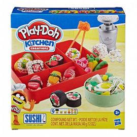 Play-Doh סושי במגש פליידו