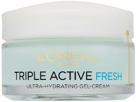 L'OREAL PARIS TRIPLE ACTIVE FRESH ג'ל קרם