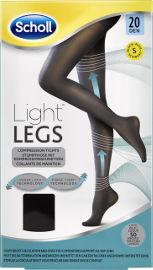 שול גרביונים 20 דנייר LIGHT LEGS צבע שחור S