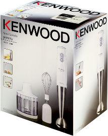 KENWOOD בלנדר מוט+קוצץ דגם HB520