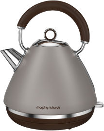 MORPHY RICHARDS קומקום פירמידה BRUSHED PEBBLE דגם 102102