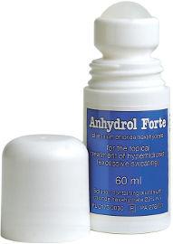אנהידרול פורטה תמיסה לשימוש בעור לטיפול מקומי בהזעת יתר