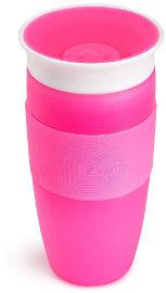 Munchkin כוס הפלא 360 - 414 מל צבע ורוד -  0111492