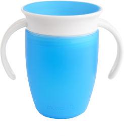 Munchkin כוס הפלא 360 - 207 מל עם מכסה- כחולה