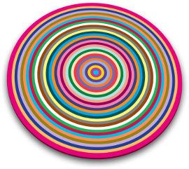 JOSEPH JOSEPH משטח עבודה עגול צבעוני