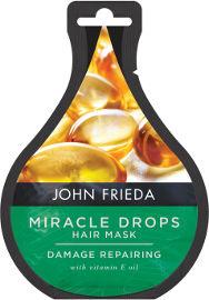 JOHN FRIEDA מירקל דרופס – מסכה משקמת לשיער המועשרת בויטמין E