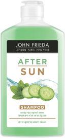JOHN FRIEDA אפטר סאן שמפו לשיקום נזקי השמש והענקת מראה מלא חיים לשיער