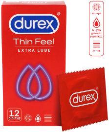 דורקס INTIMATE FEEL קונדומים דקים בתוספת חומר סיכה לתחושה אינטימית