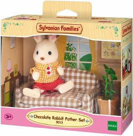 משפחת סילבניאן ערכת אבא עם ספה ארנבון שוקולד