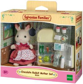 משפחת סילבניאן ערכת אמא עם מקרר ארנבונית שוקולד
