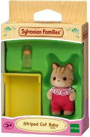 משפחת סילבניאן תינוק חתול מפוספס