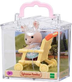 משפחת סילבניאן תינוק בתיק נשיאה ארנבון