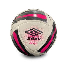 YKI כדורגל מקצועי יומברו לבן ורוד שחור NEO SWERVE