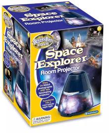 ברנסטורם מנורת מקרן בנושא גלקסיות וחלל