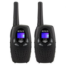 הום סט זוג מכשירי קשר - ווקי טוקי WALKIE TALKIE - צבע שחור