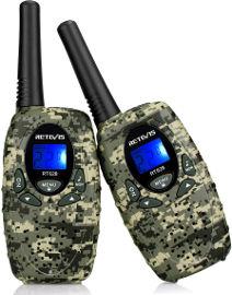 הום סט זוג מכשירי קשר - ווקי טוקי WALKIE TALKIE - דגם צבאי